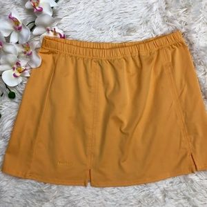 BOLLE Tennis Skirt Yellow Size Medium